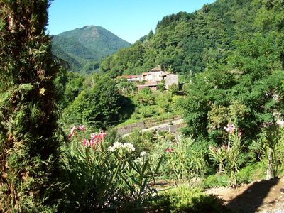 Pescaglia farmhouse rental - Hamlet View