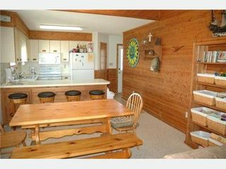 Kitty Hawk house photo - Kitchen and dining area