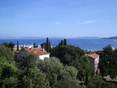 Le Lavandou apartment rental - View from terrace