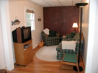 Lubec cottage photo - Den