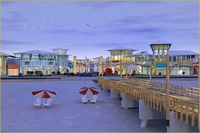 Pier Park offers 900,000 sq. ft. of shopping and and a variety of restaurants