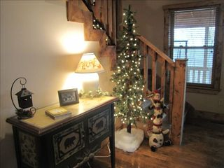 French Lick cabin photo - All dressed up for the holidays.