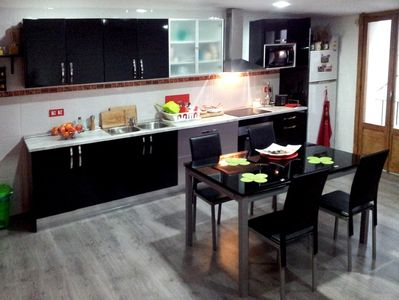 La Ribera El Borne apartment rental - Kitchen and dining area
