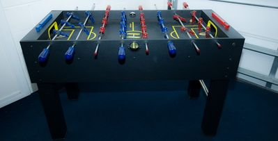 Games room - football table