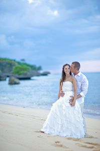 Secluded beach. Perfect! for a private wedding