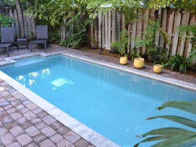 Large Private Heated Pool...