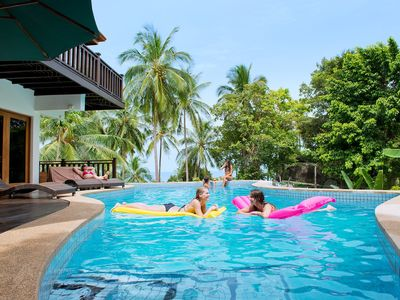 Koh Phangan villa rental - Villa with Private Pool overlooking the Bay