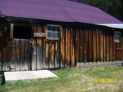The barn my grandfather built.
