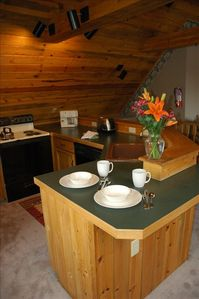 Bozeman house rental - Third floor suite with full kitchen.