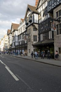 Famous Liberty of London Store opposit