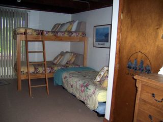 Madaket townhome photo - bedroom on lower level