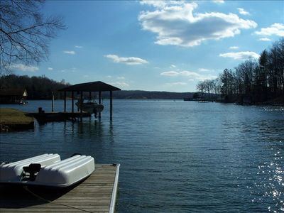 View of Lake from dock - Ask to see more photos