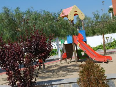 play area within complex