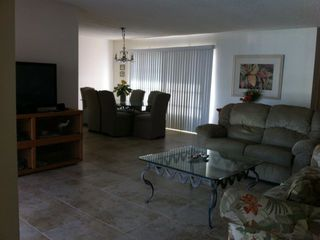 Punta Gorda house photo - Living room and dining room from a door to the lanai