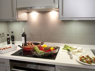 Barrio Gotico apartment photo - Located at Barcelona, Spain an Apartment with a full kitchen and WiFi