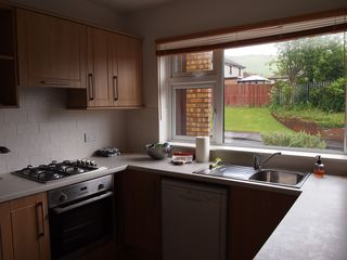 Largs house photo - Modern, well equipped kitchen.