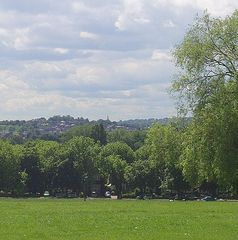 Greenwich apartment photo - view over London from Hillyfields park, 500 metres away