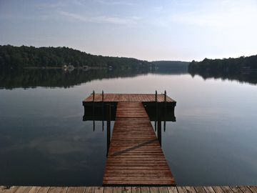 Wedowee house rental - The View from your Private Dock