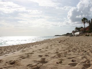 Terres Basses villa photo - The beach... only a few minutes walking from the villa