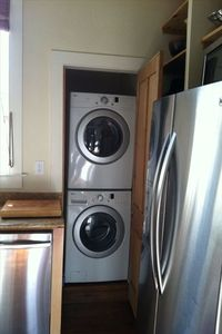 Stackable washer and dryer