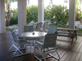 Anna Maria house photo - Large Shaded Deck on the Beachside