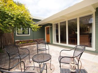 Pacific Grove house photo - Sunny courtyard greets you.