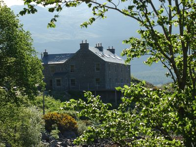 Well appointed very large luxury house with stunning view across Loch Etive
