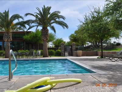 Peoria house rental - Another day in paradise...lap pool heated year around