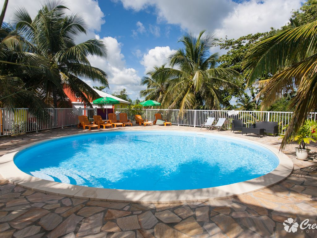 Beautiful Bungalows With Swimming Pool Homeaway Guadeloupe