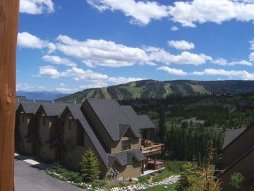 Big Sky townhome rental - Casa Moonlight in Summer. Convenient location just steps from the clubhouse