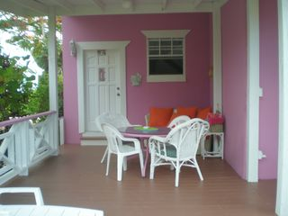 Grand Bahama Island cottage photo - Deck , Lanai and Outdoor Dining