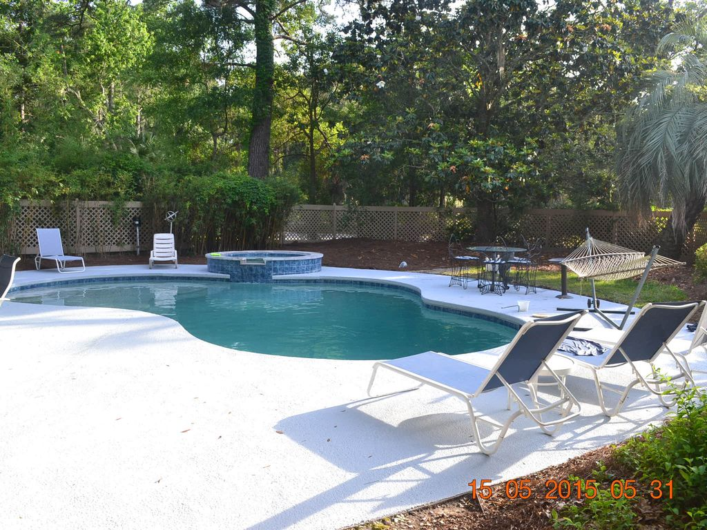 Fenced In Backyard With Pool And Spa Vrbo