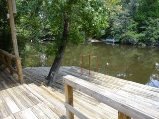 Gulfport house photo - This large fishing / boat dock is on adjacent lot ~ available for Vac guest use