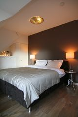 Bed room, with king bed 180x210 cm - East Amsterdam apartment vacation rental photo