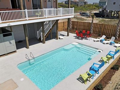 Heated Pool, oceanfront hot-tub for year-round enjoyment