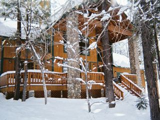 Pinetop cabin photo - Winter At The Ponderosa Lodge