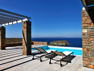 Kea villa photo - pool area