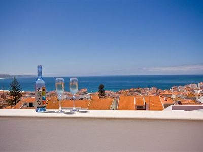 Nazare house rental - View from roof terrace