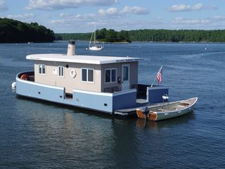 Georgetown house boat photo - The Charles Andrew, launched July 23, 2011.
