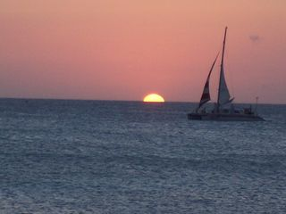 Aruba condo photo - Sunset Sail from beach