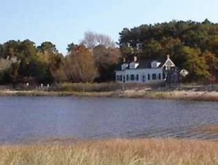 Wellfleet house photo - High tide