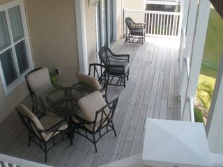 Ocean Isle Beach condo photo - Back Deck