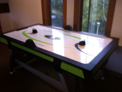 Loft with Air Hockey
