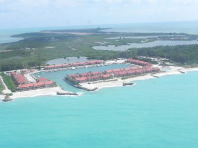 this is THE BIMINI SANDS resort!