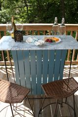 Pigeon Forge cabin photo - Marble top bar on the same beautiful deck as the hot tub.