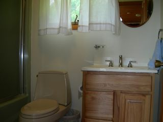 Margaretville chalet photo - Downstairs Bathroom