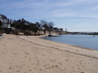 Guilford cottage photo - Gradual sandy Association beach - perfect for kids