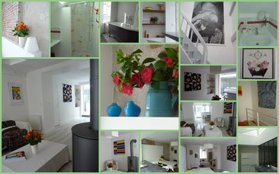 Townhouse Beaugency historic center,