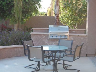 Chandler house rental - Outdoor BBQ area