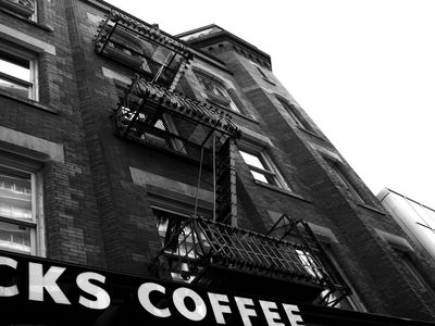 The Best Coffee Houses right across the street from us!